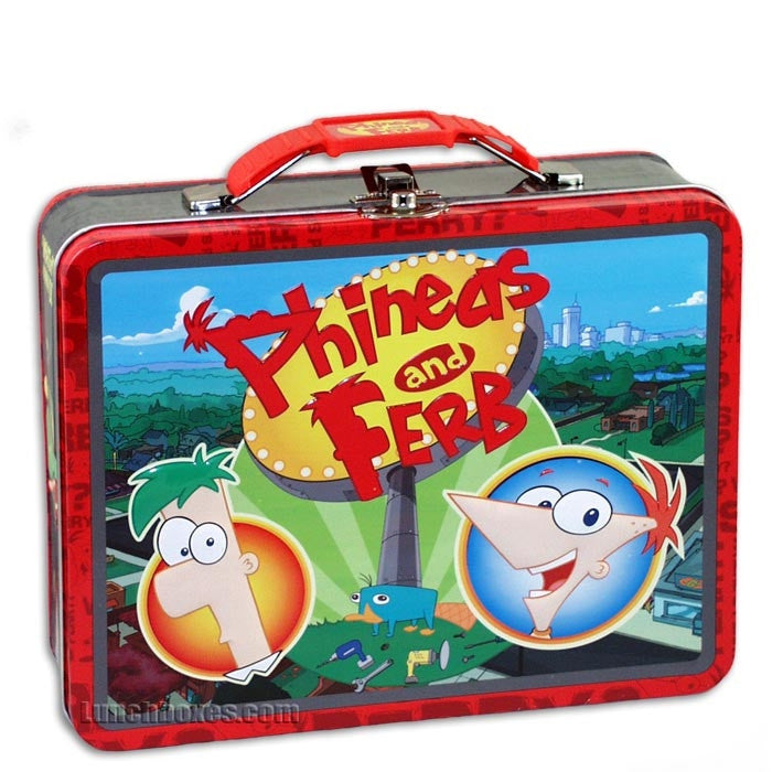 Phineas And Ferb Guitar: Lunchbox.com