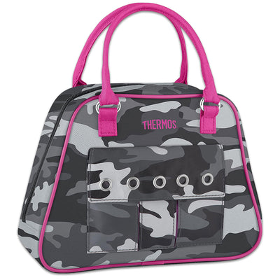Pink Camo Lunch Bag