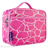 Pink Giraffe Insulated Lunchbox