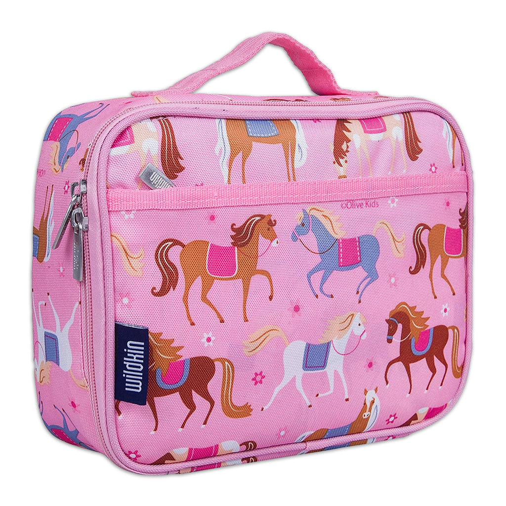 Pink Horses Lunch Box