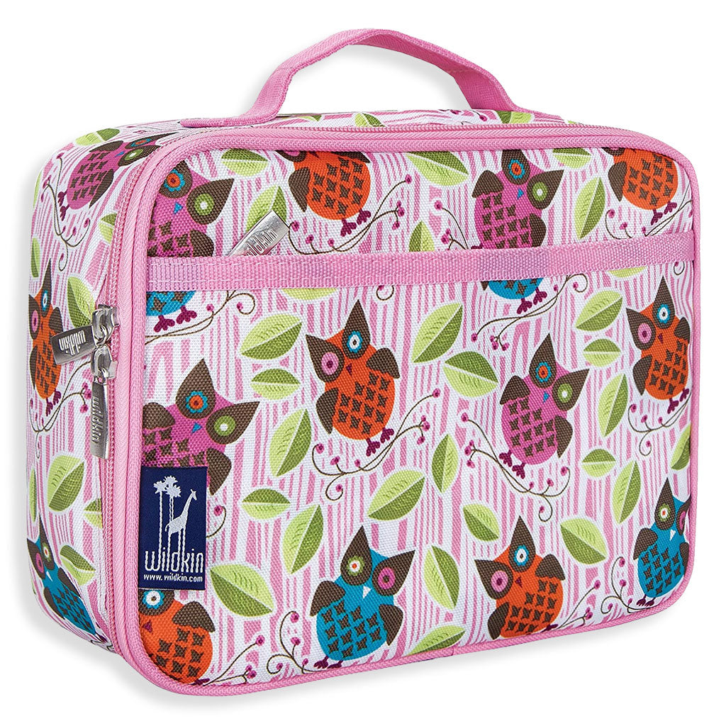 Pink Owls Lunch Box
