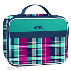 Plaid Insulated Lunch Box