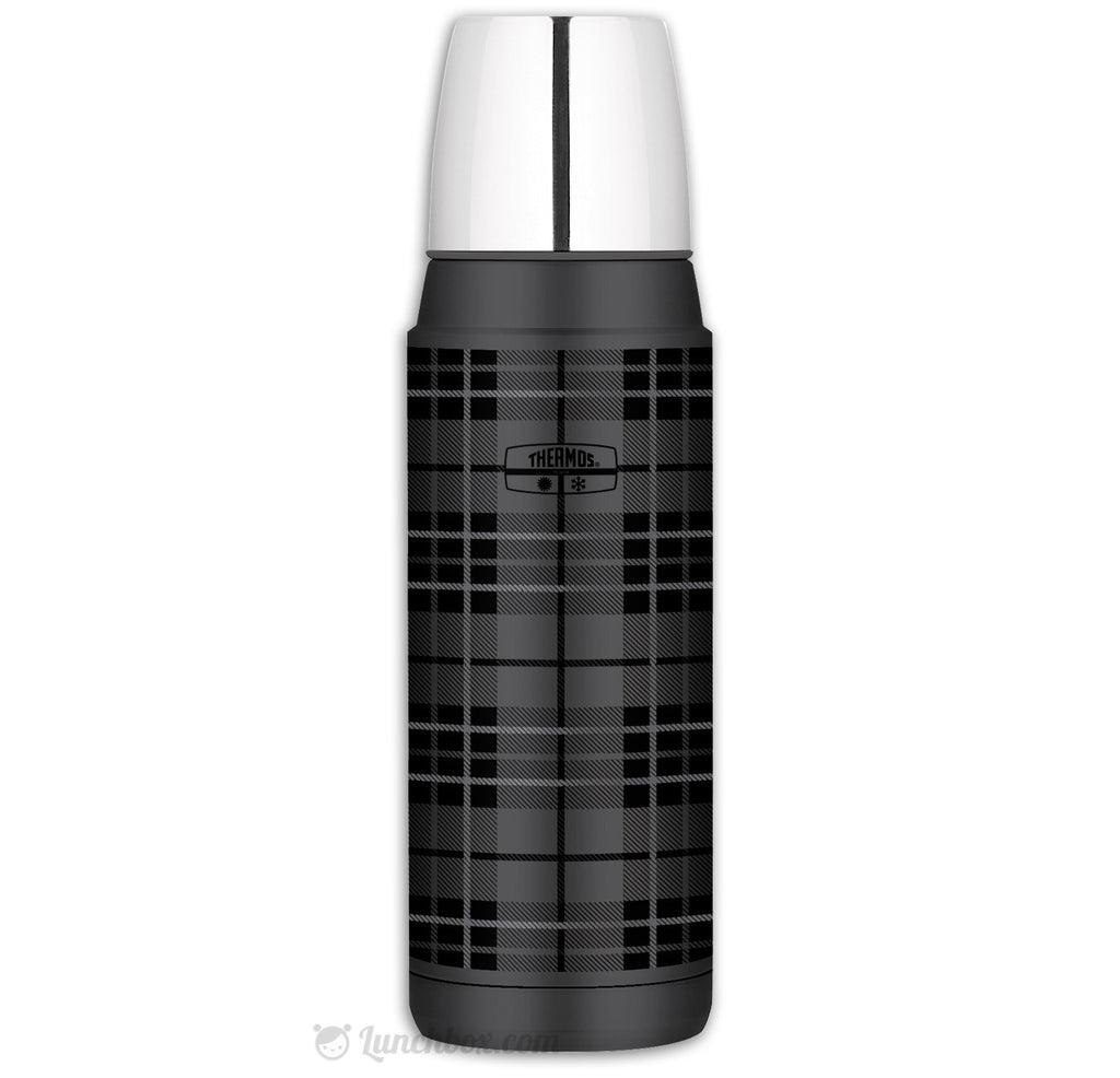Heritage Plaid Thermos Bottle