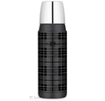 Plaid Thermos Bottle