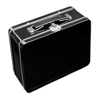 Plain Black Lunch Box
