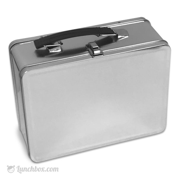 Plain Metal Lunch Box And Thermos Bottle Lunchbox Com