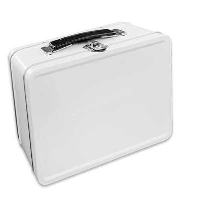 Plain White Lunch Box