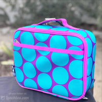 Polka Dot Insulated Lunchbox