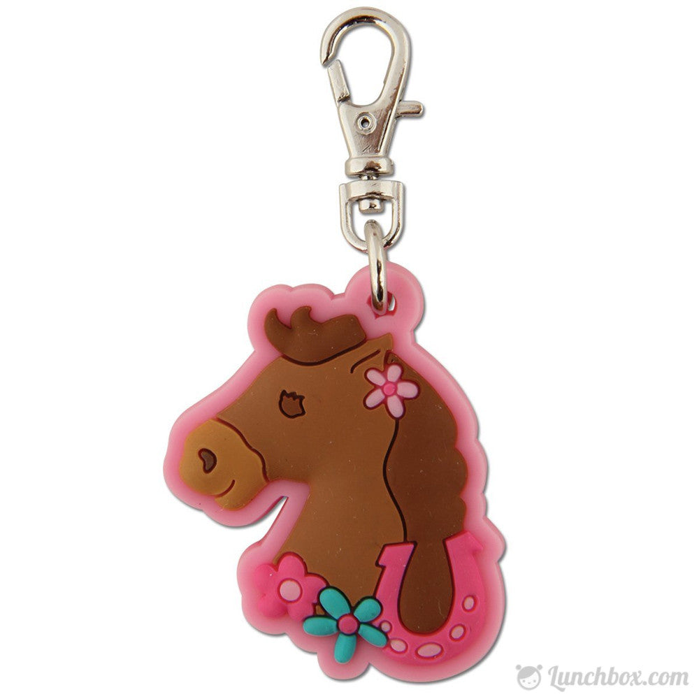Lunch Box Zipper Pull - Pony