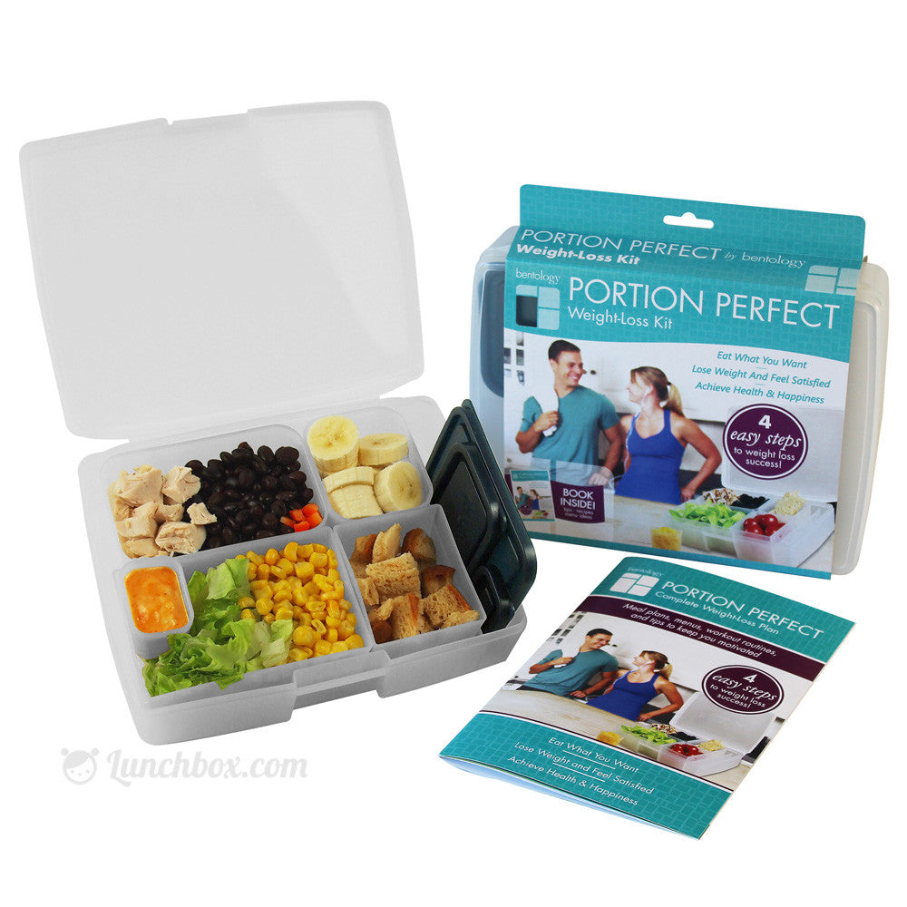 Portion Perfect Weight Loss Bento Box - Midnight