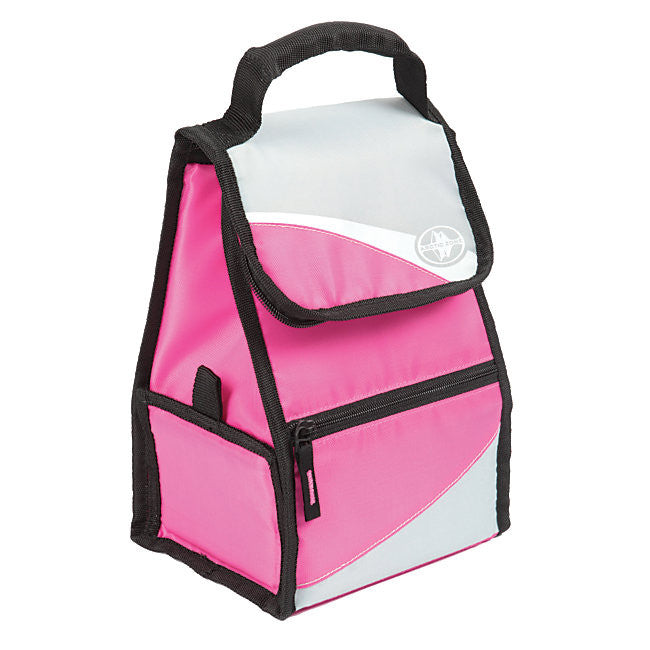 Hi-Top Power Pack Lunch Box - Pink