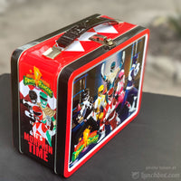 Power Rangers Metal Lunch Box