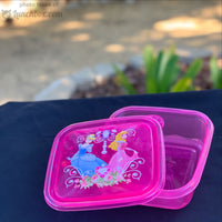 Princess Plastic Lunchbox