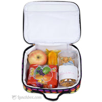 Rainbow Hearts Girls Lunchbox