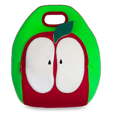 Red Apple Lunch Bag