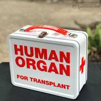 Red Cross Metal Lunchbox