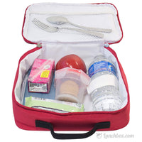 Red Insulated Lunch Box