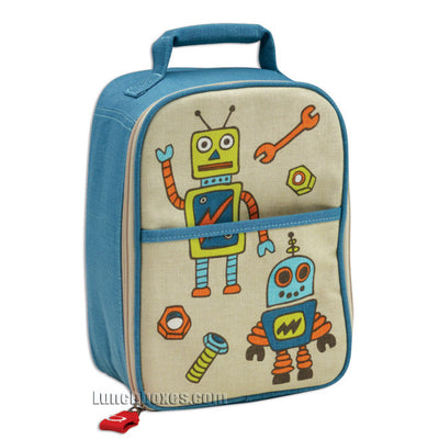 Retro Robot Lunch Box