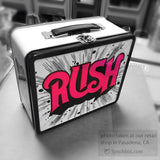 Rush Metal Lunchbox