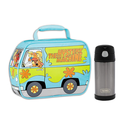 Scooby Doo Lunch Box with Thermos Bottle