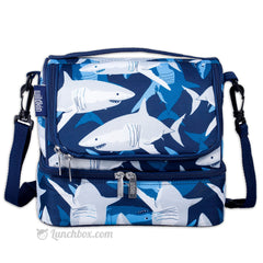 Double Decker Lunch Box - Sharks