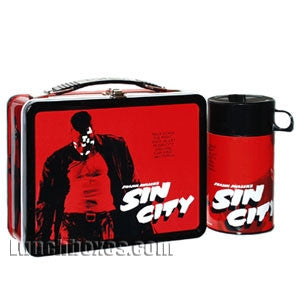 Sin City Lunch Box and Thermos