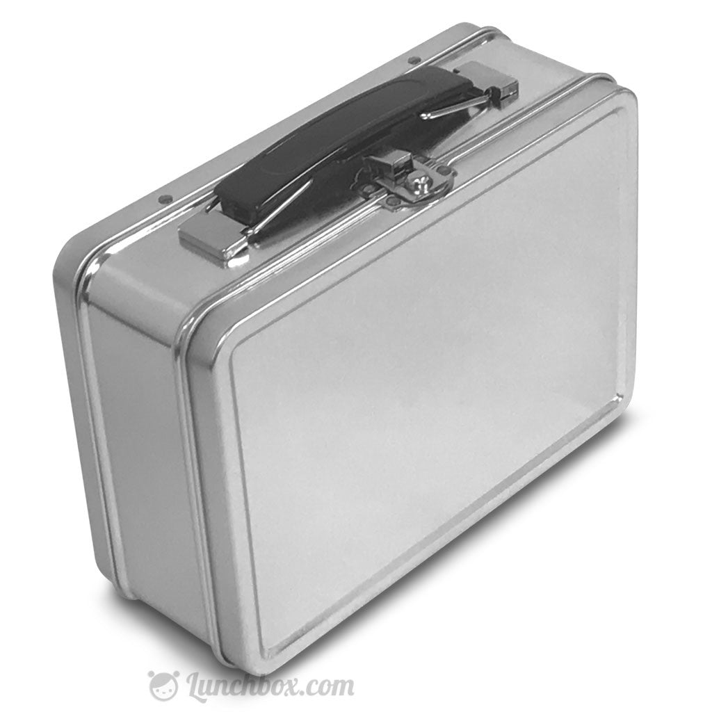 Metal Lunch Tin Part - 30: ... Small Plain Metal Lunch Box