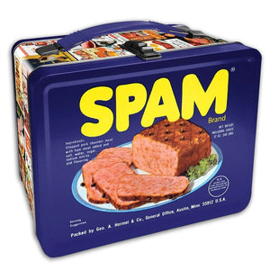 Spam Embossed Lunch Box