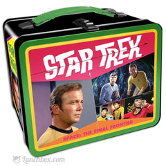 Star Trek Metal Lunchbox