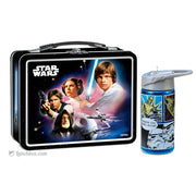 Star Wars Lunch Box with Thermos Bottle