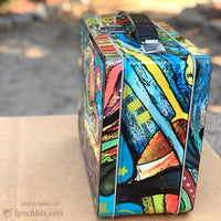 Starry Night Metal Lunch Box