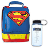 Superman Lunchbox with Thermos Bottle