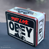 They Live Metal Lunch Box