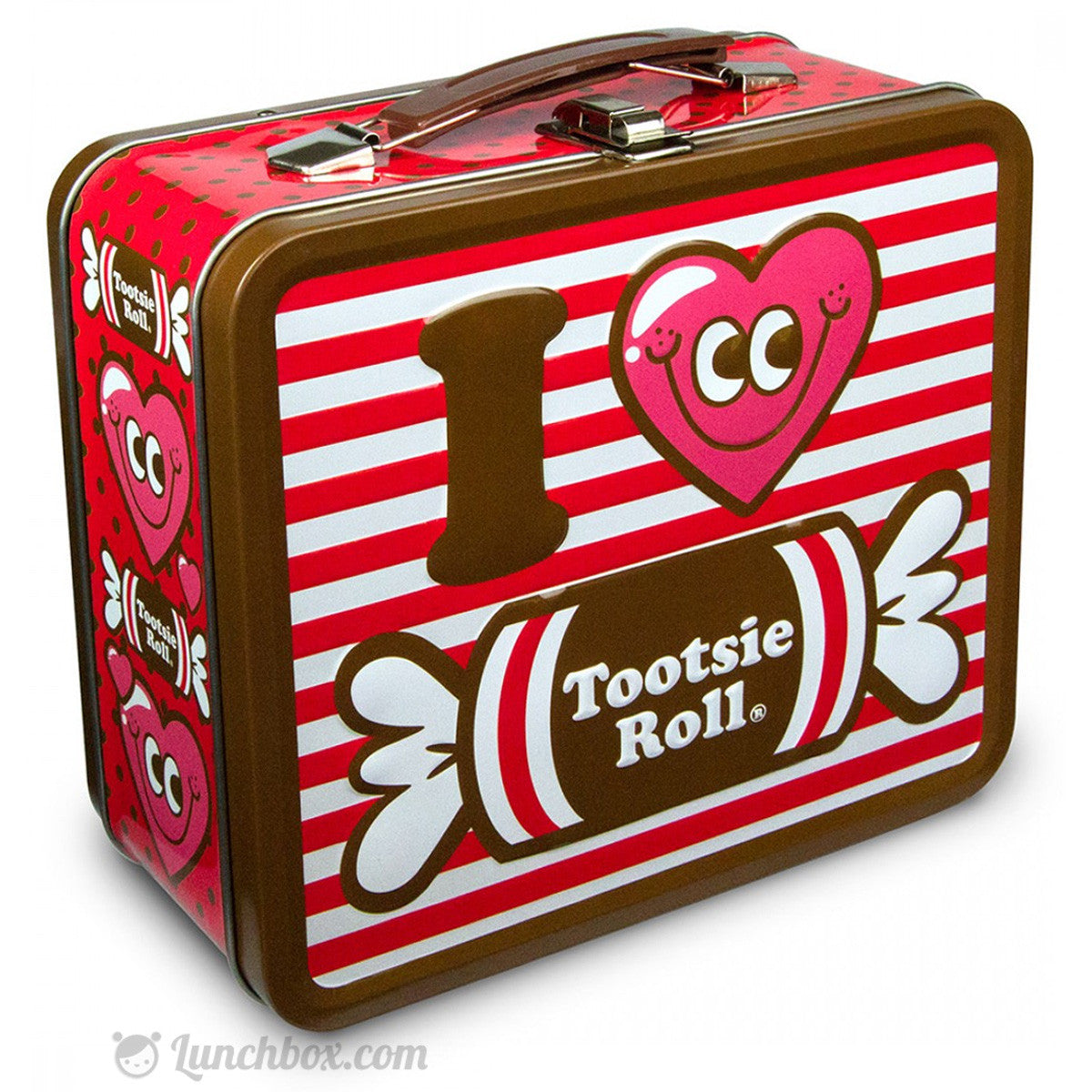 I Love Tootsie Roll Lunch Box