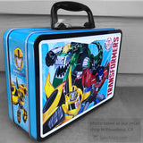 Transformers Embossed Metal Lunchbox
