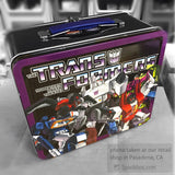 Transformers Metal Lunch Box