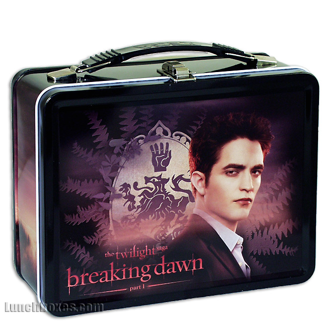 Twilight Breaking Dawn - Edward - Lunch Box and Insulated Bottle