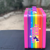 Unicorn Metal Lunch Box