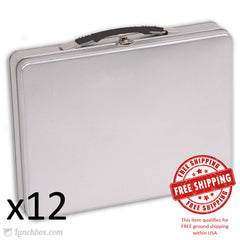 Briefcase Attache Lunch Box - Case of 12