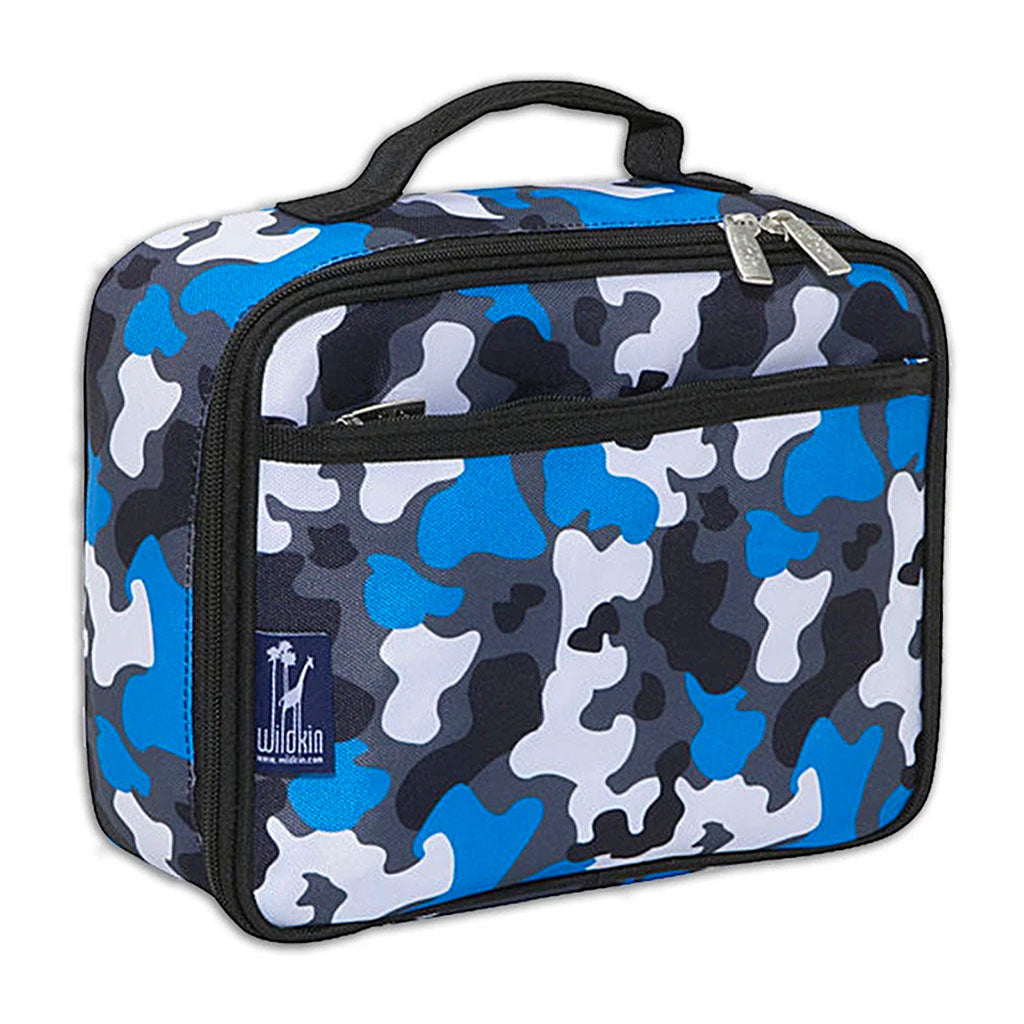 Blue Camo Insulated Lunchbox