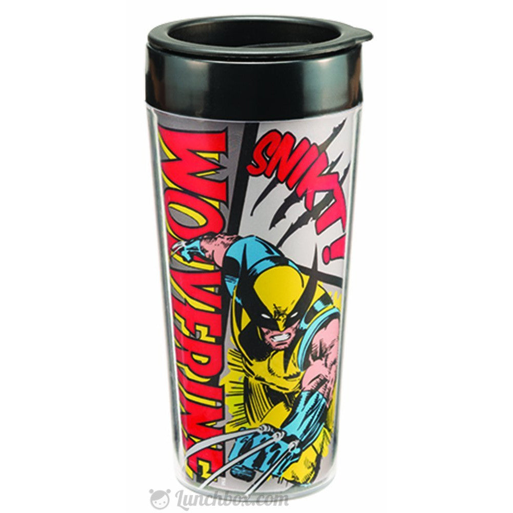 Marvel Comics Wolverine Travel Mug