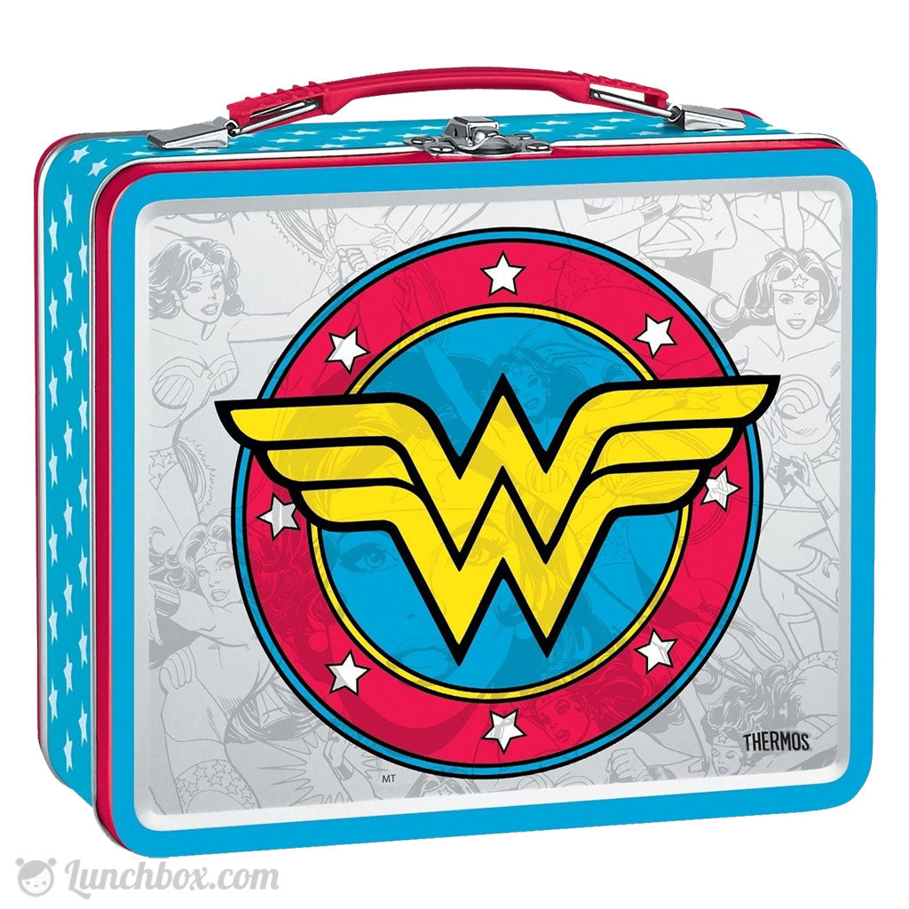 Wonder Woman Metal Lunch Box