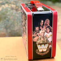 Wrestling Metal Lunch Box