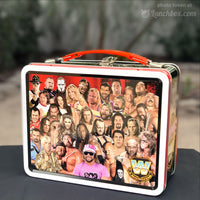 WWE Wrestling Embossed Lunch Box