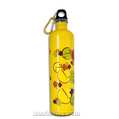Yellow 60s Drink Bottle