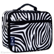 Zebra Print Insulated Lunchbox