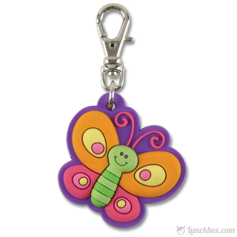 Lunch Box Zipper Pull - Butterfly