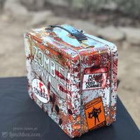 Zombie Metal Lunch Box
