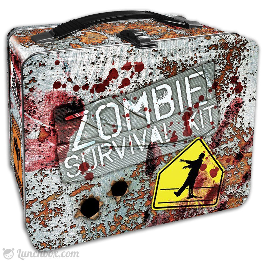 Zombie Survival Lunch Box