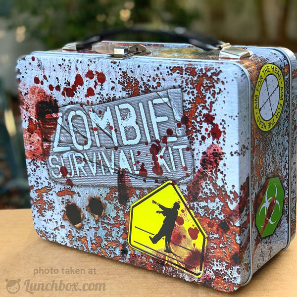 Zombie Survival Kit Lunch Box Lunchbox Com
